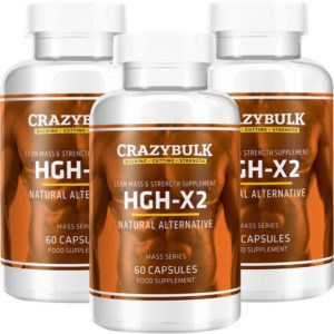 HGH X2 by Crazy Bulk